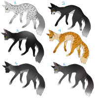 Adoptables | Cat | ONE OPEN by ponysalvaje33