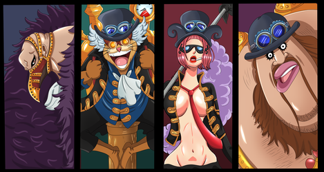 Ejercito Revolucionario (One Piece Ch. 904) by bryanfavr