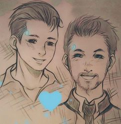 Connor x Jacksepticeye by AikaXx