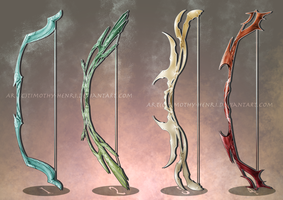 (SALE) - Fantasy Bows Adoptable #043 by Timothy-Henri