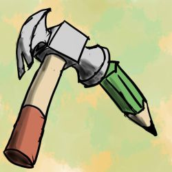 Hammer and Pencil by Lemi4