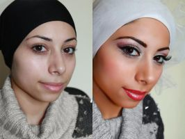 Before and after by JoujouBeauty
