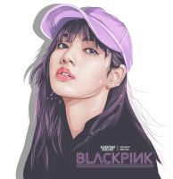 BlackPink Lisa Fanart by zerosteins