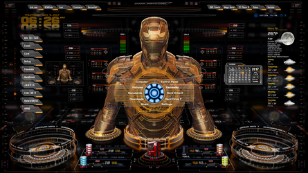 Iron Man OS 1.3 by oldcrow10