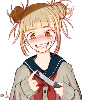 Himiko Toga - Boku no Hero Academia by AB-Anarchy