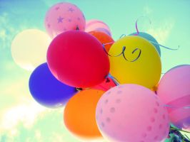 Balloons by TaylorArbolante