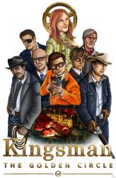 Kingsman 2 Poster by QuackingRussians
