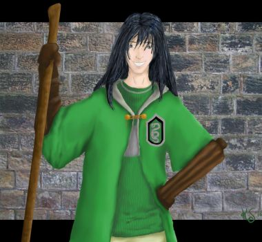 Maglor... in slytherin by sargentsnarky