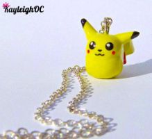 Pikachu Necklace by KayleighOC