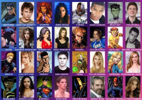 Teen Titans casting call by Valor1387