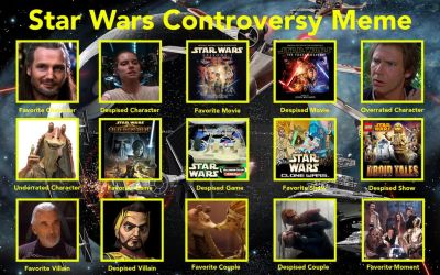 Star Wars Controversy Meme by HNBBTF