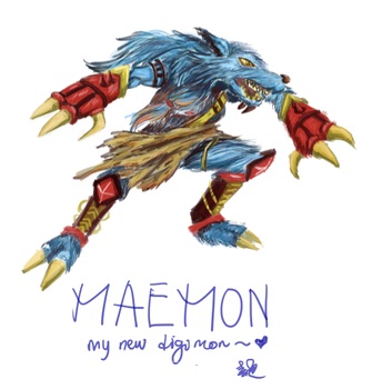 My digimon by carmentan124