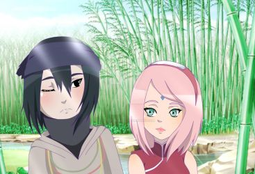 [Chibi] Sasusaku The Last by Hada-SKYHELL