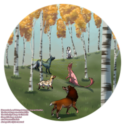 Trade: [E] Looking at Birch Leaves by AmaranthineRain