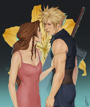 The flower girl and the bodyguard by Merwild