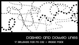 Dashed and dotted lines by deviantales