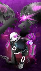 Despair Sans -Yin Despy ( REUPLOAD MAJ 3) by NaikoDraw