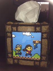 Ken and Fam Tissue Box Cover by shimmerydaze