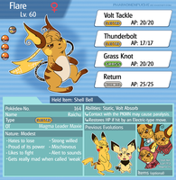 2015 Sheet Flare (Pokesona) by Pharaonenfuchs