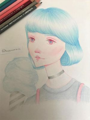 Cotton Candy Girl by lovenomous