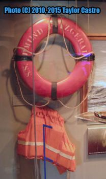 Edmund Fitzgerald's Life Preserver and Life Jacket by tscastro1989