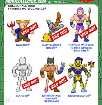 Lil Formers - MOTU collecting by MattMoylan