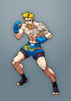 Fighting game character design 01 by Jiggeh