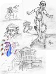 Rough House Dev Sketches w/ Charity Cheeger by the-gneech