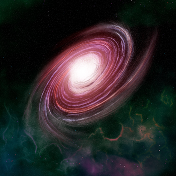 Galaxy Study by leandroh00