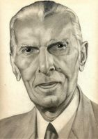 Quaid-e-Azam by mazhear