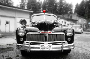 The Old Police Car by BrookerT