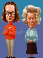 on the buses lasses by Loopydave