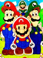 Mario RPG worlds collide by Iwatchcartoons715