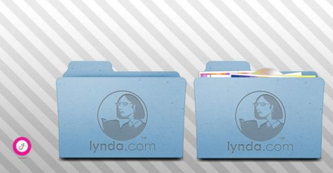 Lynda.com Folder Icon v.1_icns by Garish82