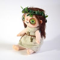 Ghost girl art doll by falauke