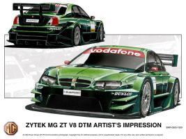 Previous Designs - MG DTM car by andyblackmoredesign