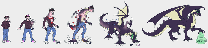 Brit dragon sequence [Gift] by BlueDraconicKnight