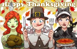 Happy Thanksgiving 2014 by ArtistAbe