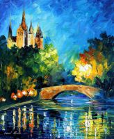 Bridge Over Time by Leonid Afremov