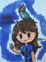 Fanart for Jaiden Animations! by CreeperTheDog