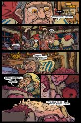 Comic Page 2 Inquest of Missing Time Volume 1 by Castiron-Shoe-Monkey