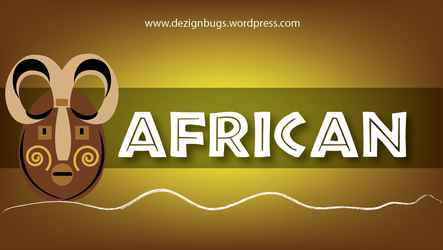 african font by jithin61