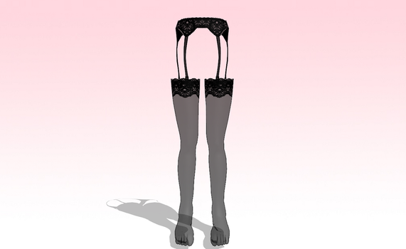 MMD Lacy stockings -UPDATED- by amiamy111