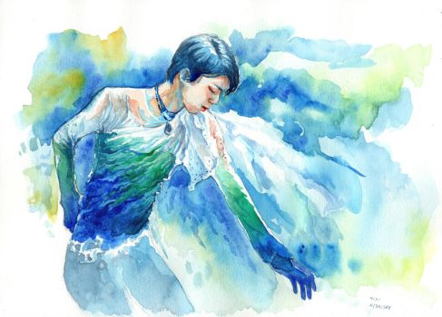 Hope and Legacy Watercolor 2017 by Akoustam5