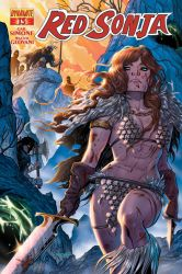 RED SONJA #16 Cover by Renae De Liz! Dynamite Ent! by RayDillon
