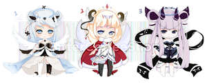 Chibi Adopts by bitter--coffee