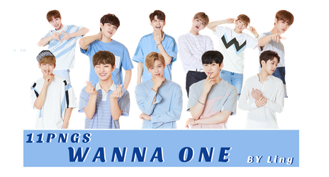 [PNG PACK]WANNA ONE 11PNGS-2 by l8686837