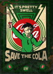 TBATF Propaganda: Save the Cola! by Eddsworld-tbatf