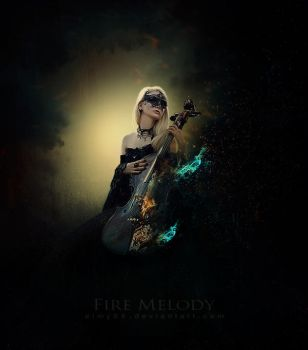 Fire Melody by emanrabiah