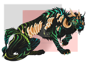 Blackfish Ke'sorian lion Adopt [closed] by ThePopsicleThief